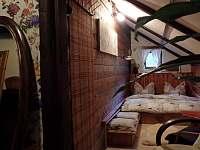 pokoj č.3, dvoulůžkový - chalupa k pronajmutí Černá Říčka