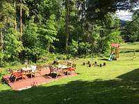 zahrada - Černá Říčka