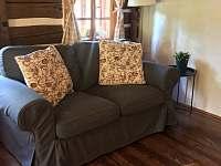 obývací místnost - pronájem chalupy Tanvald