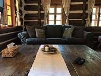 obývací místnost - chalupa k pronájmu Tanvald