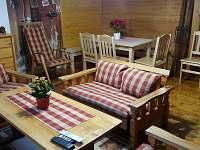 Obývací pokoj - chalupa ubytování Příchovice