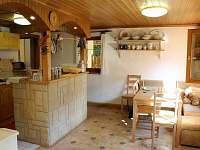 Kuchyň - chata k pronájmu Albrechtice v Jizerských horách