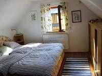 Ložnice - chata ubytování Albrechtice v Jizerských horách