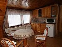 Obývací pokoj s kuchyňskou linkou - Bedřichov