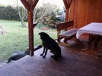 Venkovní posezení s grilem - chalupa k pronajmutí Jablonec nad Nisou - Krásná