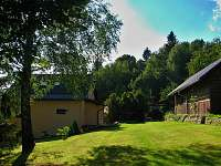 SKI Apartmán Zásada - Pohled ze zahrady