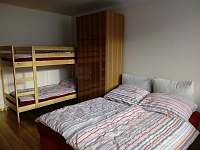Ložnice č.2 - apartmán ubytování Jiřetín pod Bukovou