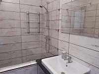 Koupelna - chata k pronajmutí Jiřetín pod Bukovou
