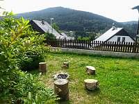 Zahrada grilování - chata k pronajmutí Jiřetín pod Bukovou
