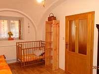 Spodní ložnice - chalupa k pronajmutí Koloděje nad Lužnicí