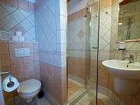 Každý pokoj má vlastní koupelnu s WC - Světce