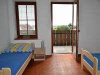 Tří lůžkový pokoj s balkonem