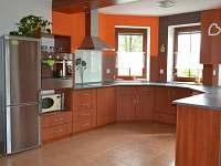 Vybavená kuchyně - chalupa ubytování Zlukov 124