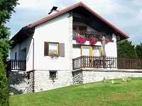 ubytování Horní Planá ve vile na horách