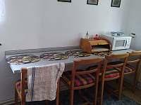 Kuchyň - pronájem chaty Kunžak
