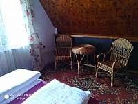 Ložnice č.1 - chata k pronájmu Kunžak