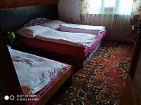 Ložnice č.1 - chata ubytování Kunžak