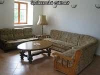 Společenská místnost - ubytování Lomnice nad Lužnicí - Ponědraž