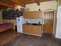 Malý apartmán - chalupa k pronajmutí Holičky