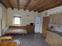 Velký apartmán kuchyně - pronájem chalupy Holičky