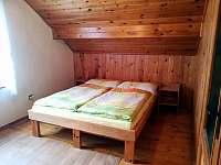Ložnice - podkroví (3 lůžka)