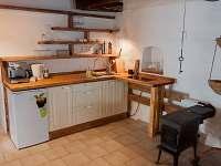 Kuchyně v chaloupce - pronájem Vodňany