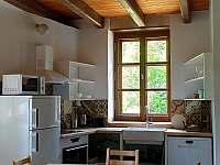 ap.B kuchyně,led TV,rozkládací gauč - Kamenná Lhota