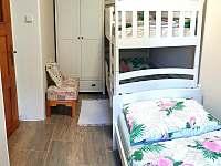 apartmán A 3 lůžka - chalupa ubytování Kamenná Lhota
