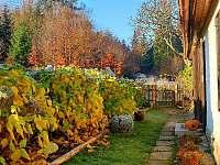 podzim - chalupa k pronájmu Kamenná Lhota