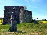 zřícenina hradu Borotín - Kamenná Lhota