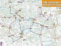 Běžkařské trasy - chalupa k pronájmu Borotín