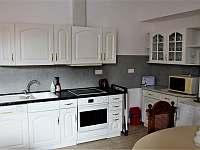 Apartmány Papík-Ap.č.1. kuchyně - Nová Bystřice