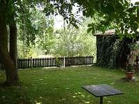 zadní část zahrady-řeka Lužnice