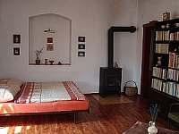 Obývák - chalupa ubytování Mnich