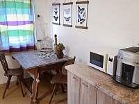 kuchyně - pronájem chalupy Žebrákov u Orlíka