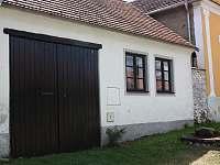Chaloupka na vsi Radošovice - ubytování Radošovice