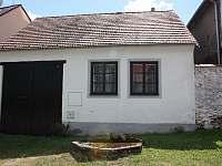 Chalupa Radošovice - k pronájmu