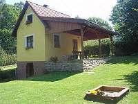 Chaty a chalupy Pěnenský rybník - Dřevo na chatě k pronajmutí - Nová Bystřice