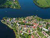 Frymburk - nekrásnější městěčko u jihočeského moře -