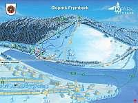 Ski areál Frymbukr - v dochůzí vzdálenosti od apartmánu či skibus zdarma - k pronájmu