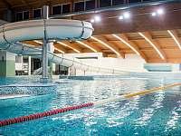 Vnitřní aquapark - k pronájmu Frymburk