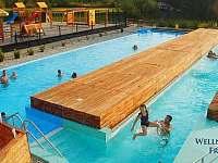 Wellness a sauna svět přímo v areálu - 30 % sleva jako další dárek pro Vás :) - apartmán k pronajmutí Frymburk