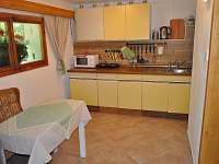 Kuchyně - chata k pronájmu Planá nad Lužnicí