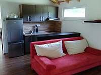 Obývací pokoj - chata ubytování Jistec
