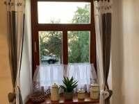 Kuchyně - chalupa ubytování Cizkrajov