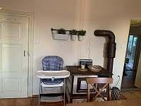 Kuchyně - pronájem chalupy Cizkrajov