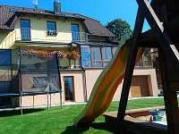 Ubytování U Vongrejů se zahradou a dětským hřištěm - rekreační dům ubytování Lipno nad Vltavou