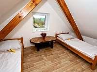 Ložnice 2 - pronájem chalupy Pištín
