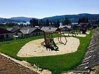 Dětské hřiště - chata ubytování Lipno nad Vltavou - Kobylnice