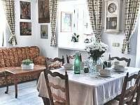 Obývací místnost s jídelnou - Český Krumlov